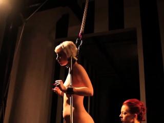 Restrained bdsm lesbian