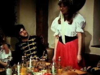 Bavarian retro sex party turned into a gangbang