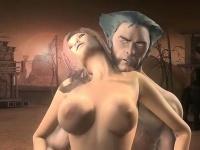 Муж ебет спящую жену в жопу