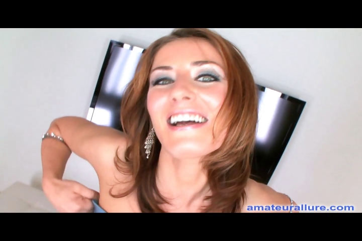 Porno Video of Petite Amateur Deep Throats And Swallows