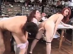 Межрасовое порно с красотками