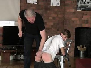 Naked guys Spanking The Schoolboy Jacob Daniels
