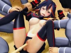 В чулках трахается с секс машиной смотреть онлайн
