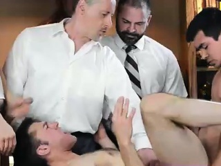 Young guy assfucked in old vs young kinky...