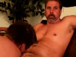 Straight mature bears gay giving head