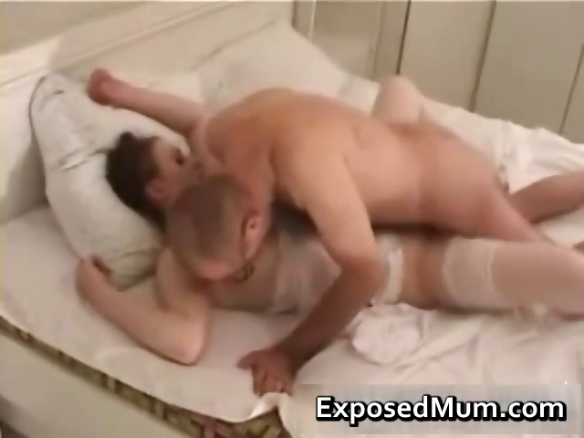 Porn Tube of Mother Wearing Pantyhose Penetrated Part4