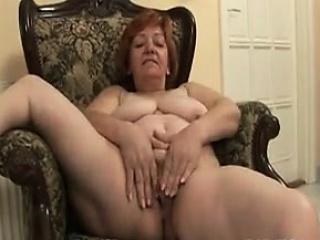 Chubby Granny Mastubates Chair...