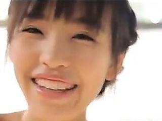 Asian Beauty Bounces Her Boobs Non Nude