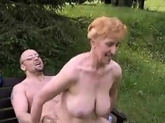 Секс после свадьбы на природе