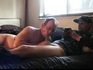 Straight Military Hunk Blowjob From Older Neighbor