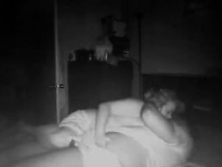 Mature BBW Stacey on spy camera with her BF