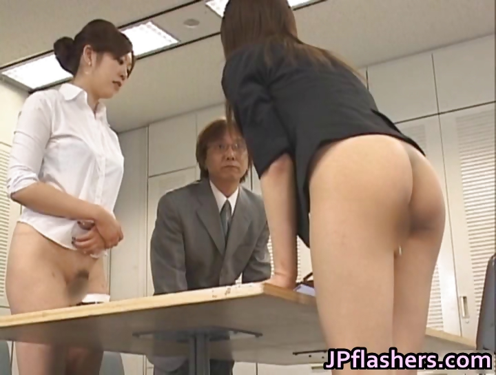 Porno Video of Half Nude Japanese Chicks Showing Off Part1