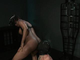 Ebony mistress interracial femdom bdsm black
