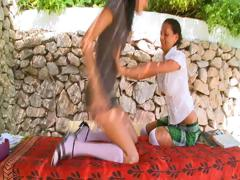 Adria and mia секс
