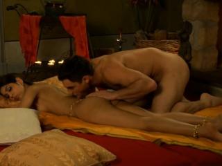Секс видео красивая девушка массаж