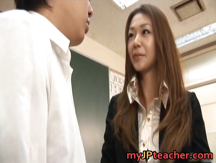 Porno Video of Junna Aoki  Hot Asian Teacher Gets Part3