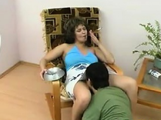 Mature Woman Getting Licked And Fucked