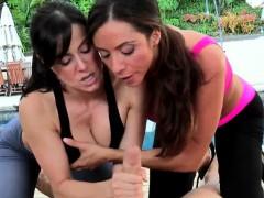 Видео массаж маслом