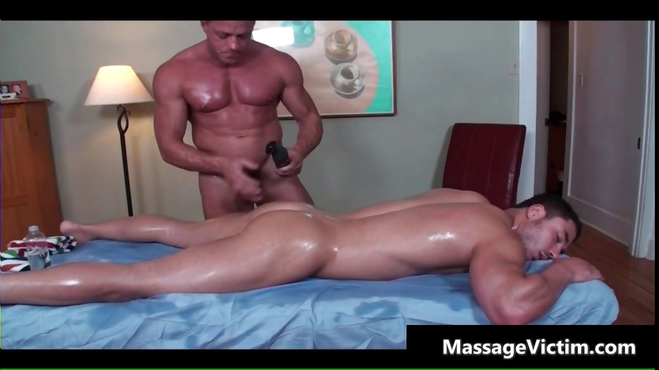 Porn Tube of Super Hot Bodied Guy Gets Oiled For Gay Part1