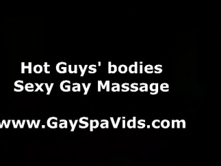 Naked sexy gay massage for straight guy