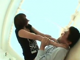 Asian Femdom Fucking A Guy With A Strap-On