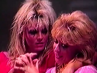 Hairy Late 80s vintage lesbian porn