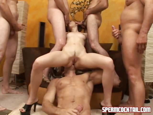 Porno Video of Girl Fighting Against Mature Cocks