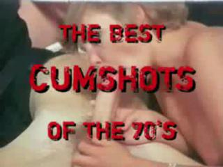 Porn Tube of Best Cumshots Of The 70s