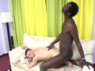 Gay Latin Hungry For Black Cock