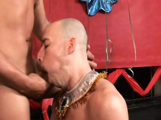 Latino Gay Men Huge Bareback Party