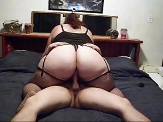 Porno Video of Big Plumper Films Getting Fucked And Butt Plugged On Her Home Cam