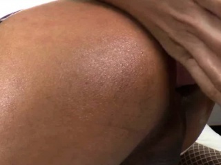 Big cock shemale Candy B asshole banged by horny dude