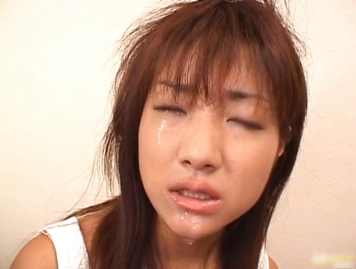 Porno Video of Super Hot Asian Babe Slurping Cum Off Part5