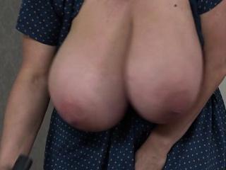 Big boobs sex at work