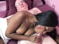 Black coed nikki ford is getting have sexual intercourse by a lucky geek | Pornstar Video Updates