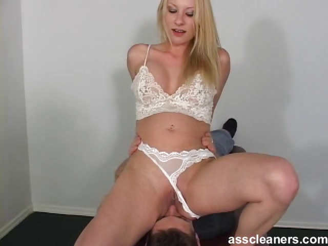 Porn Tube of Smothered By The Mistress' Ass While Demanded To Sing
