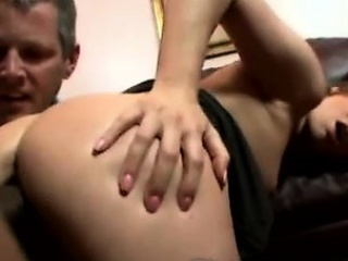 Big booty milf smashed in doggystyle in front...