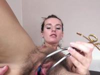Дырка в вагине видео