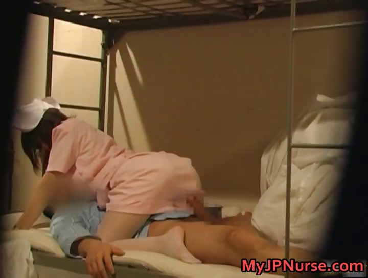 Porno Video of Hot Japanese Nurse Is Up For Some Hot Part6