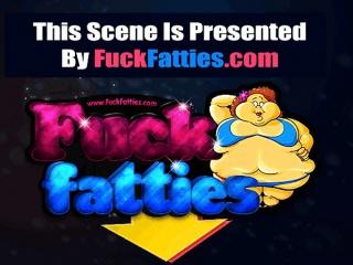 Fat Ebony Deepthroating Cock Sucker Get Hard Fucked
