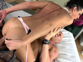 Mature Shemale Lina Cavalli Gets Fucked Hard