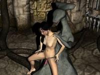 Девушка на гинекологическом кресле