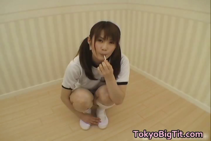 Porn Tube of Erika Kirihara Asian Model Enjoys Part4