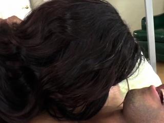 Ebony shemale Kourtney Dash pounding ass