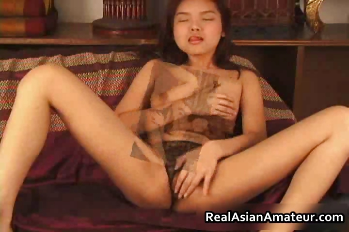 Porno Video of Petite Asian Amateur Teen In Black Part2
