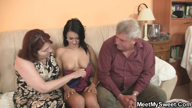 Sex Movie of She Is Seduced By His Old Parents