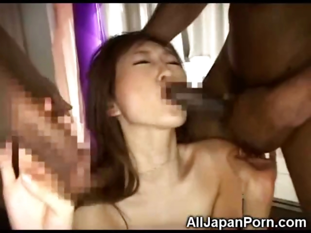 Porno Video of Asian Teen Banged By Blacks!
