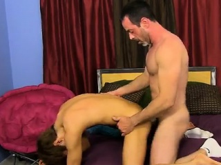 Cute gay twink cowboy porn Kyler cant resist having another