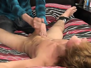 Hairy chest gay males sucking other males tugging on the man
