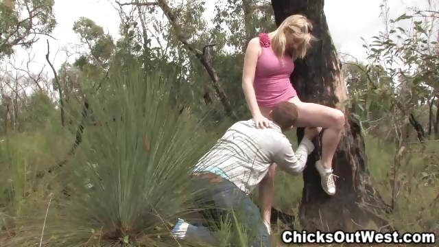 Porno Video of Young Couple In The Bush
